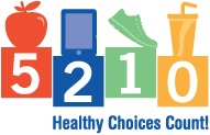 5-2-1-0 Healthy Choices Count logo