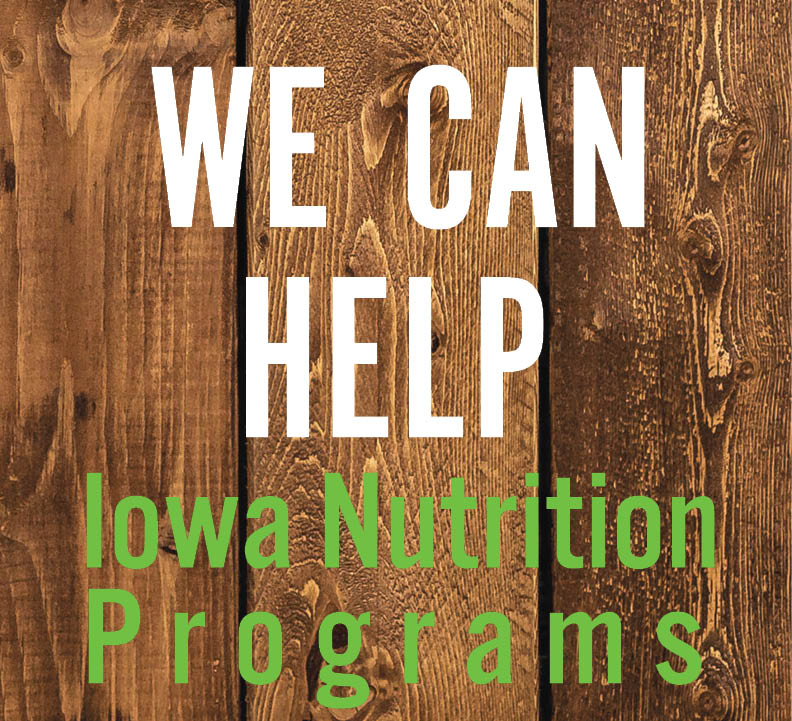 Image of We Can Help Iowa Nutrition Programs brochure